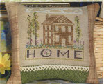 COUNTRY HOME (CS) 61 x 61 Country Garden Stitchery