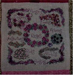 FLOWER GARDEN PLAN (CS) Country Garden Stitchery