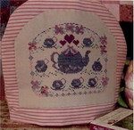 FRIENDSHIP TEA Country Garden Stitchery