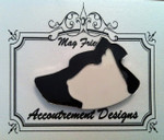 Dog/Cat Silhouette Large Classic MAGNET Accoutrement Designs