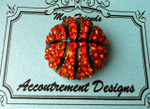 Basketball MAGNET Accoutrement Designs