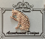 Cat clear Glamorous MAGNET Accoutrement Designs