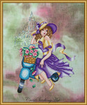 Cross Stitching Art Violetta 121w x 196h