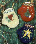 Holiday Mini-Mittens Waxing Moon Designs YT