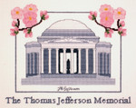 PC687 The Posy Collection The Thomas Jefferson Memorial