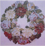 PC194 The Posy Collection Nelly Custis Rose Wreath