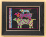 LB301625 Mill Hill Laurel Burch Dog Pyramid -  Dogs Collection (Aida);