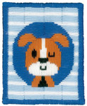 PNV155634 Vervaco Kti Winking Dog - Long Stitch