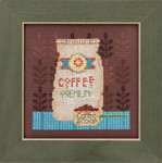 DM301614 Mill Hill Debbie Mumm Kit Coffee Grounds