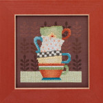 DM301615 Mill Hill Debbie Mumm Kit Coffee Cups