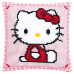 PNV147565 Vervaco Kti Hello Kitty Pink Cushion