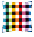PNV150843 Vervaco Kit Square Design Long Stitch Cushion