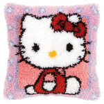 PNV148212 Vervaco Hello Kitty Latch Hook Cushion