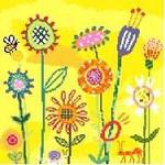 AS401 Birds Of A Feather Amy's Yellow Garden