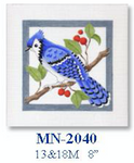 "MN-2040 Blue Jay - Male 18 Mesh 8"" CBK Bettieray Designs"