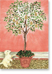 CB-XO 08 Partridge in Pear Tree 5x7 18 Mesh CBK Ciao Bella Designs n