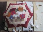 15-1657 THI-1513 Victorian Pinkeep 110 x 85 Thistles