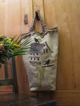 BIRDHOUSE BAG (CS) 90 x 155 Thistles