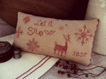 15-2546 Let It Snow by Threadwork Primitives 129w x 71h