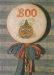 13-1507 Pumpkin Boo 40w x 60h by Dames Of The Needle