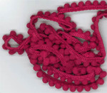 D-073 Raspberry Pearls (1 yd) by Dames Of The Needle