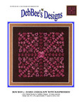 Bon Bon 1-Dark Chocolate 140w x 140h DebBee's Designs Counted Canvas Pattern