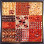 GLITZ & GLAMOUR COPPER (CC) 108 x 108  DebBee's Designs Counted Canvas Pattern