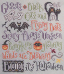 15-2614 Scary Things October Brings by Silver Creek Samplers 92w x 103h