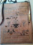 16-1415 Sarah Liddle Sampler Bag by Stacy Nash Primitives