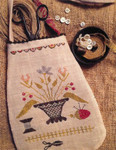 16-1413 Simple Pleasures Sewing Pouch by Stacy Nash Primitives