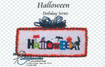 16-1278 Halloween by Stitchworks, The