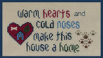 16-1276 Warm Hearts - Cold Noses by Stitchworks, The
