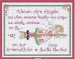 10-1303 Women Are Angels by Sue Hillis Designs