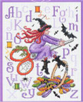14-2300 Witch's Stitches 106w x 136h Sue Hillis Designs YT