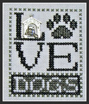 16-1162 Love Dogs (w/chm) by Hinzeit 31w x 41h