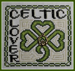 16-1159 Wordplay - Celtic Clover (WithCharm) by Hinzeit 59w x 59h
