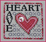 16-1160 Wordplay - Have Heart (With Charm) by Hinzeit  59w x 59h