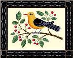 BF223 Yellow Bird Birds Of A Feather