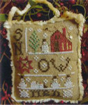 2014 SNOWMAN ORNAMENT - SNOWMEN EVERYWHERE W/EMB (CS) 42w x 53h - 30ct linen