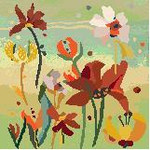 CO602 College Bouquet Gold Birds Of A Feather