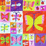 BF712 Butterfly Collection Birds Of A Feather