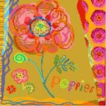 DI501 Poppies Birds Of A Feather
