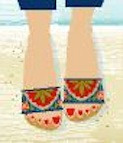 BF613  Birds Of A Feather Bohemian Sandal Kit Size 7