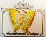 Butterfly yellow Accoutrement Designs