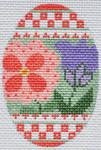 CH-167 Flower Egg 2 ¼ x 3 ¼ 18 Mesh Danji Designs CH Designs