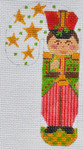 CH-WTP-07 Toy Solider Candy Cane 2 ¾ x 5 ¼ 18  Mesh Danji Designs CH Designs