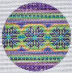 """TM-01 Geometric Round 1 3"""" Round 18 Mesh TANYA MERTEL Danji Designs"""