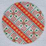 """TM-08 Geometric Round 8 3"""" Round 18 Mesh TANYA MERTEL Danji Designs"""