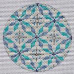 """TM-02 Geometric Round 2 3"""" Round 18 Mesh TANYA MERTEL Danji Designs"""