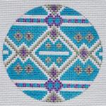 """TM-04 Geometric Round 4 3"""" Round 18 Mesh TANYA MERTEL Danji Designs"""